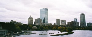 Iconic Scene of Boston Charles River Basin-2